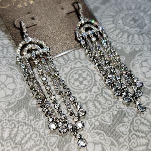Carolee NY Finge Chandelier Earrings